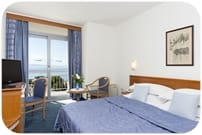 Double room, sea side view