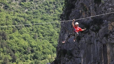 Zip line excursion is one of many available activities
