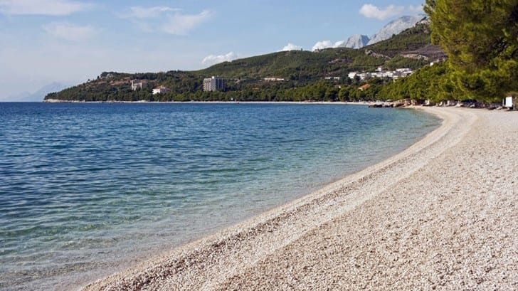 Beaches in Tučepi