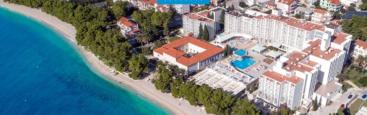 4* beach hotel in Dalmatia