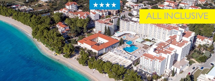 A 4* All Inclusive beach hotel in Dalmatia