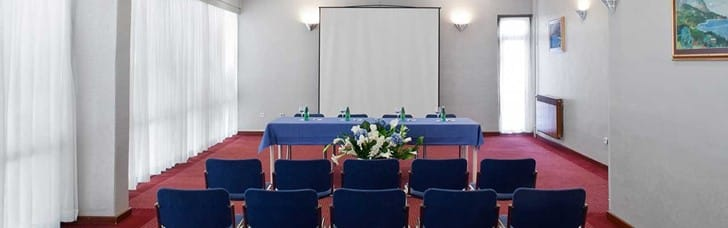 Conference hall and meeting rooms of various sizes