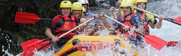 Arouse the adventurer in you with rafting on River Cetina